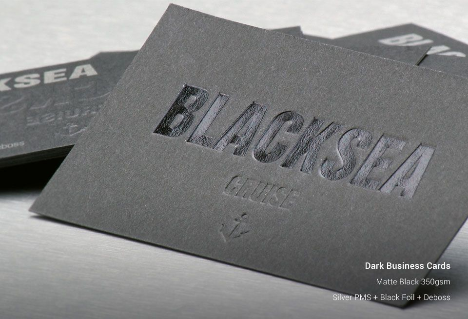 Dark business cards stickermarket previous next reheart Images