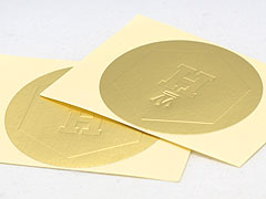 Brand: Meri Meri. Gold glitter alphabet stickers
