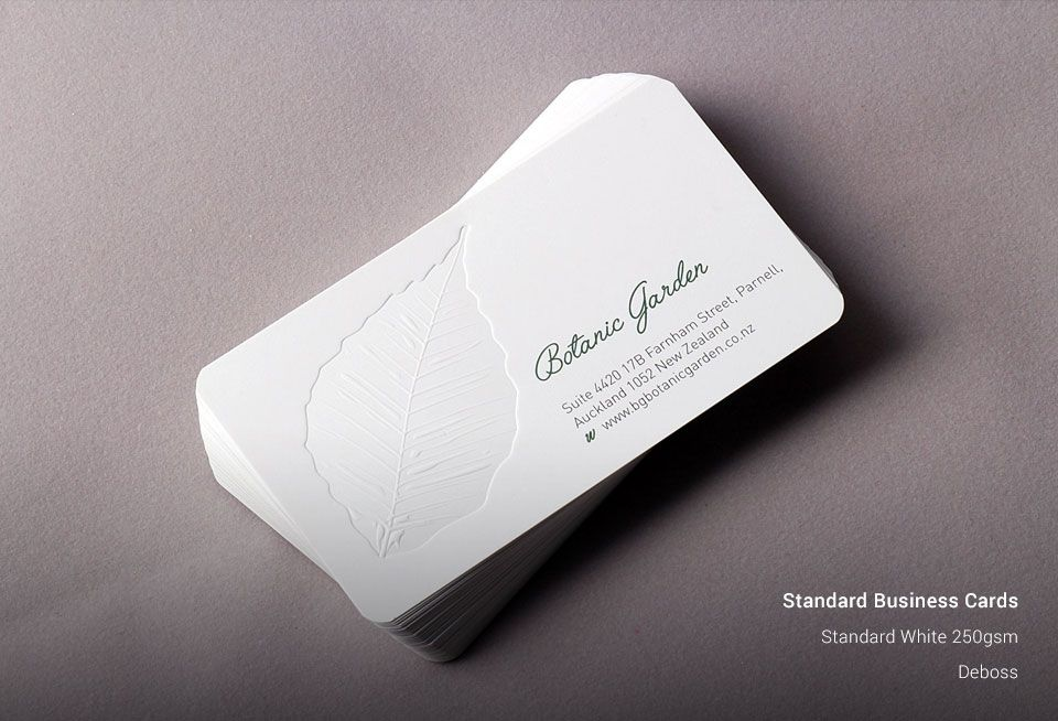 Standard Business Cards | UK Business Cards | Business Cards ...