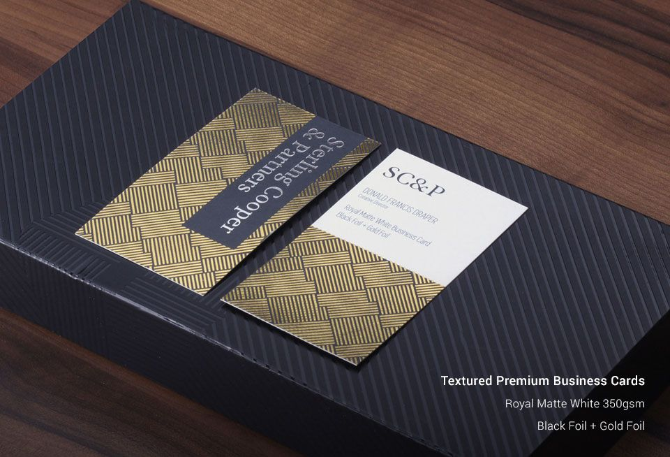 Textured Business Cards | Custom Textured Business Cards UK ...
