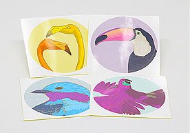 Hull Custom Art Paper Stickers Printing