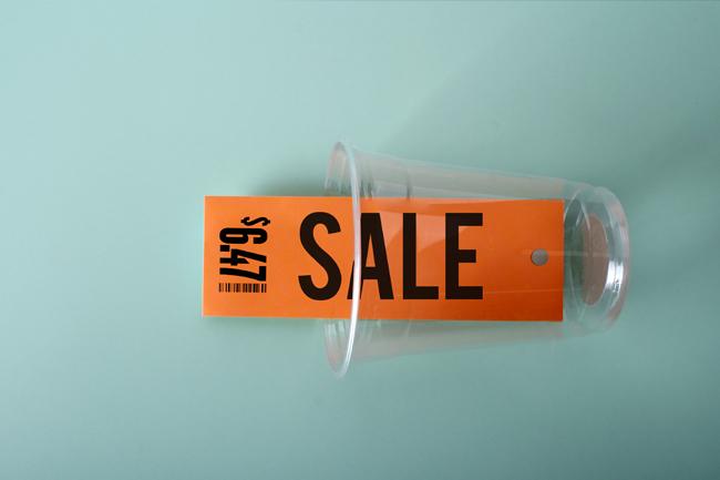 custom sale swing tags