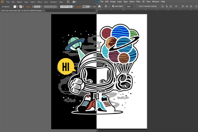 custom vector stickers print all