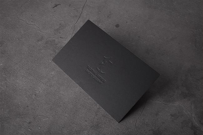 photography custom business cards